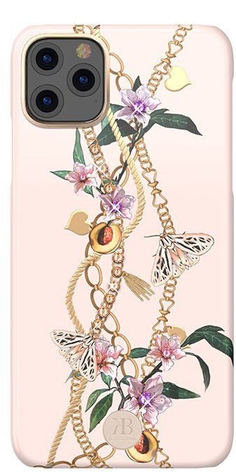 Kingxbar Luxury Series Back Case With Swarovski For Apple iPhone 11 Pro Max Pink