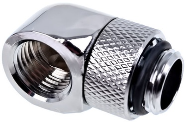 Alphacool Eiszapfen L-connector Rotatable G1/4 Chrome