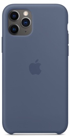 Apple Silicone Back Case For Apple iPhone 11 Pro Alaskan Blue