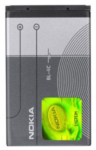 Nokia BL-4C Original Battery 860mAh MS