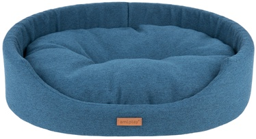 Amiplay Montana Oval Bedding L 58x50x15cm Blue