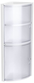 Шкаф для ванной Tatay Corner White