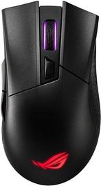 Игровая мышь Asus ROG Gladius II Black, беспроводная, оптическая