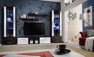 ASM Galino C Wall Unit Wenge/White Gloss/Wenge