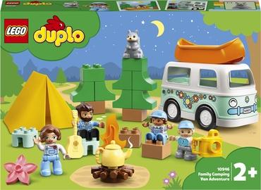 Конструктор LEGO Duplo Семейное приключение на микроавтобусе 10946,, 30 шт.