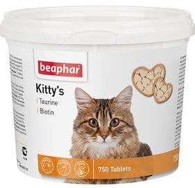 Пищевые добавки, витамины для кошек Beaphar Kittys with Taurin/Biotin 750 Tablets
