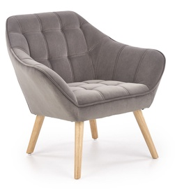 Atzveltnes krēsls Halmar Romeo I Grey, 83x75x75 cm