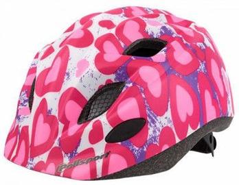 Polisport Premium Junior S White/Pink 52-56cm
