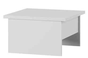 Kafijas galdiņš Szynaka Meble Space 1 White, 800x800x460 mm