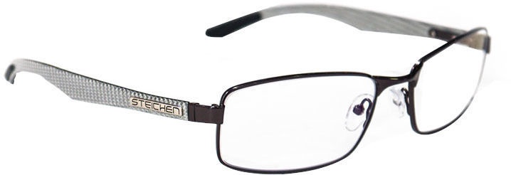 Steichen Gaming Glasses White Carbon Gray Edition