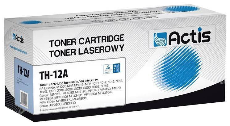 Actis Toner Cartridge for HP 2000p Black