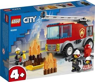 Constructor LEGO City Fire Ladder Truck 60280