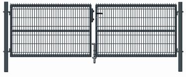 Vārti Garden Center RAL7016 Gate 4000x1230mm Grey