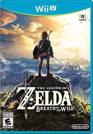 Legend Of Zelda: Breath Of The Wild WiiU