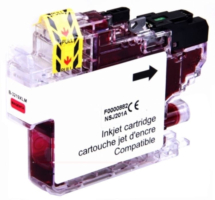 Uprint Cartridge for Brother 17ml Magenta