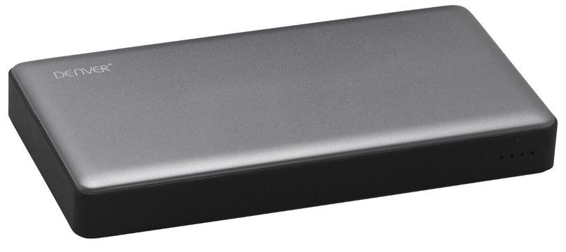 Ārējs akumulators Denver PBS-10003 Silver, 10000 mAh