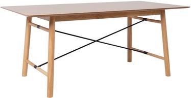 Pusdienu galds Home4you Emerald 45021, ozola, 1800x900x750mm