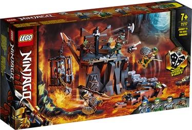 Конструктор LEGO®Ninjago 71717 Путешествие в Подземелье черепа