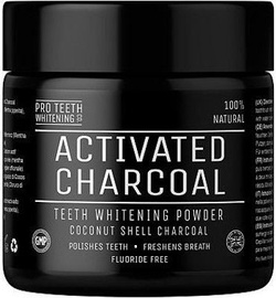 Pro Teeth Whitening Activated Charcoal Teeth Whitening Powder 162g