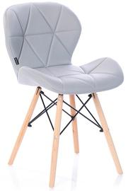 Ēdamistabas krēsls Homede, pelēka