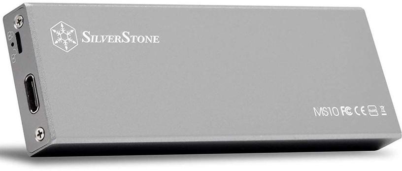 SilverStone MS10 M.2 SATA External SSD Enclosure USB 3.1