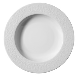 Kutahya Porselen Acelya Soup Plate White 22cm ACL22CK00