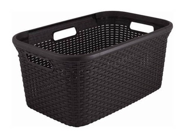 Ящик для белья Curver Rattan Laundry Basket 45l Brown