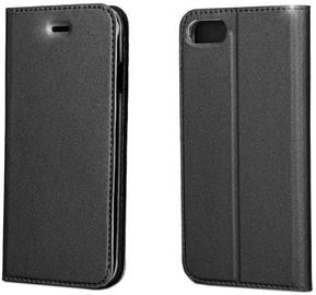 Blun Premium Smart Magnetic Fix Book Case For Huawei Mate 10 Lite Black