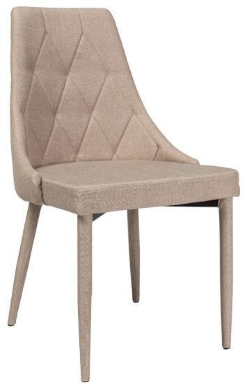 Ēdamistabas krēsls Signal Meble Trix Beige, 1 gab.