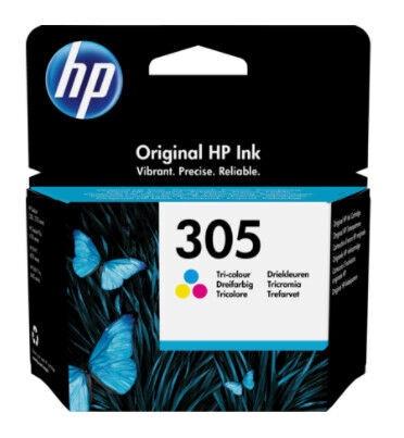 Printera kasetne HP 305 Tri-Color