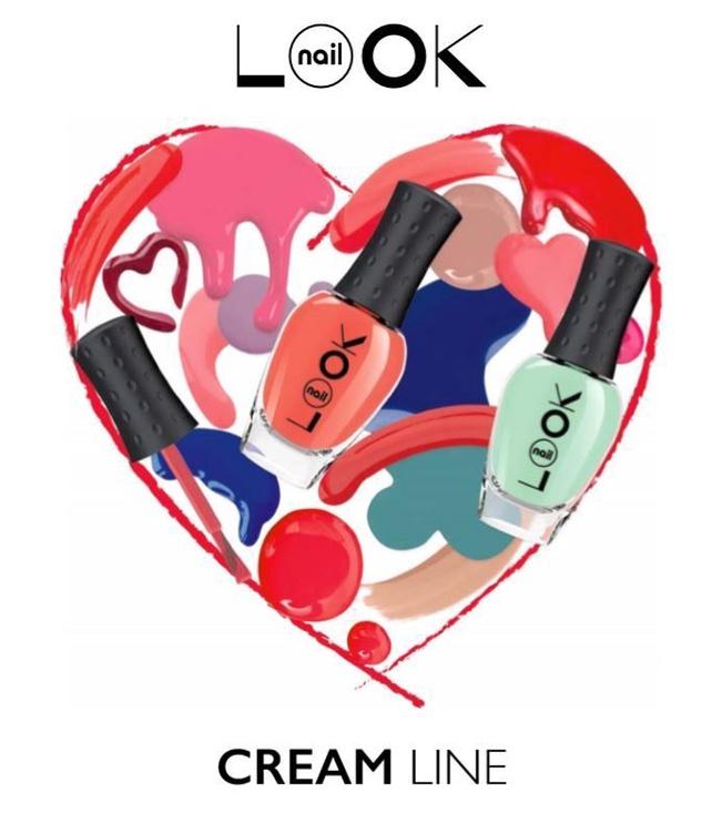 nailLOOK Cream Line Polish 8.5ml 31069