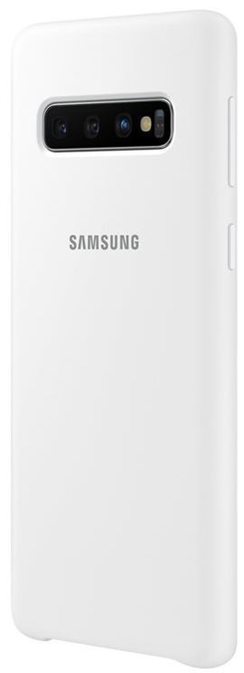 Samsung Silicone Back Case For Samsung Galaxy S10 White