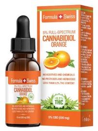 Formula Swiss Cannabidiol Orange Full Spectrum 10ml 5%