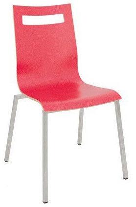 Ēdamistabas krēsls Black Red White D S02 Strawberry, 1 gab.