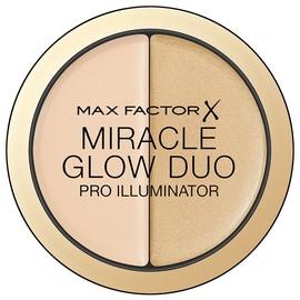 Grima bāze Max Factor Miracle Glow Duo Pro Illuminator 10 Light Max Factor Light 10, 11 g