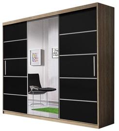 Idzczak Meble Wardrobe Alba Sonoma Oak/Black