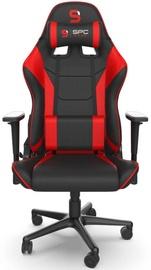 Spēļu krēsls SilentiumPC SR300F V2 Red
