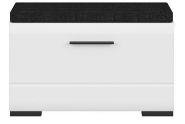 Apavu plaukts Black Red White Fever White, 800x370x500 mm