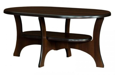 Kafijas galdiņš Bodzio S13 Walnut, 1300x800x590 mm