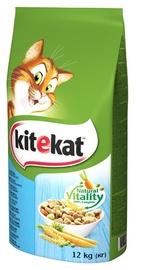 Kitekat Natural Vitality Dry Food w/ Fish & Vegetables 12kg