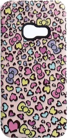 Mocco 3D Hearts Back Case For Samsung Galaxy A5 A520 Pink