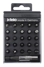 Набор бит для шуруповерта (25 бит, магнитный держатель) FELO