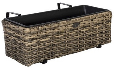 Home4you Wicker 60x19xH18cm Beige
