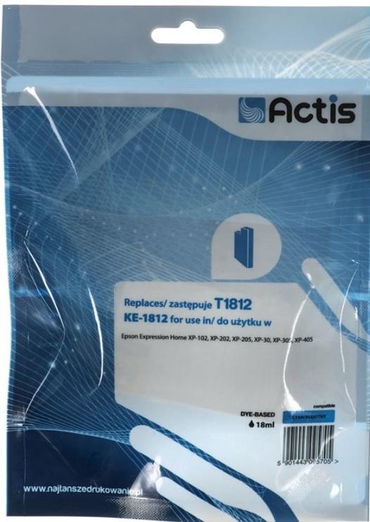 Actis Cartridge For Epson KE-1812 Cyan