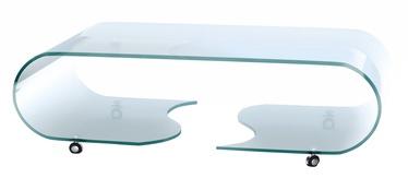 Kafijas galdiņš Halmar Penelope Transparent, 1200x650x390 mm