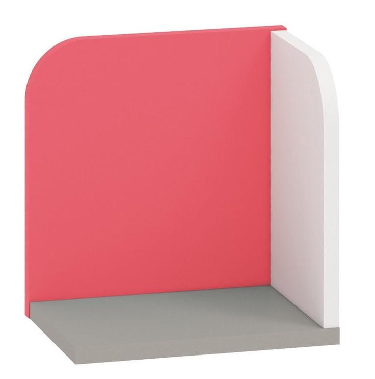 ML Meble IQ 16 Wall Shelf Red