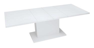 Pusdienu galds Black Red White Trawers 2W, balta, 2200x900x760mm