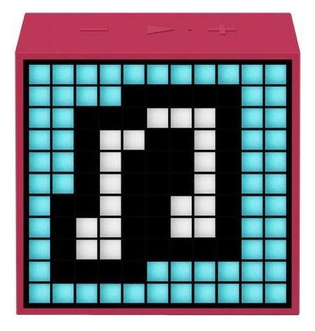Bezvadu skaļrunis Divoom TimeBox Mini Pink, 5 W