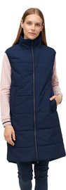 Audimas Long Vest W/ Thinsulate Thermal Insulation Navy Blazer L