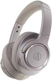 Austiņas Audio-Technica ATH-SR50BT Brown Grey, bezvadu